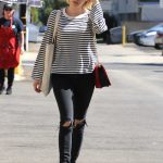 Emma Roberts Stops by Emerald Forest Gifts in Studio City 10/05/2017-4