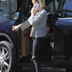 Emma Roberts Stops by Emerald Forest Gifts in Studio City 10/05/2017-5