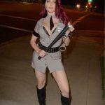 Erika Jordan Leaves a Pre-Halloween Party in Los Angeles 10/29/2017-2