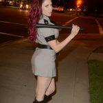 Erika Jordan Leaves a Pre-Halloween Party in Los Angeles 10/29/2017-3