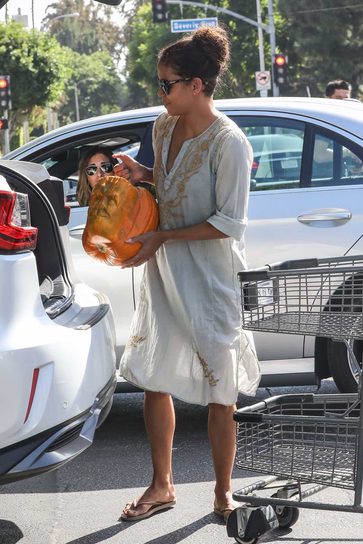 Halle Berry Was Seen at Bristol Farms in Los Angeles 10/09/2017-2
