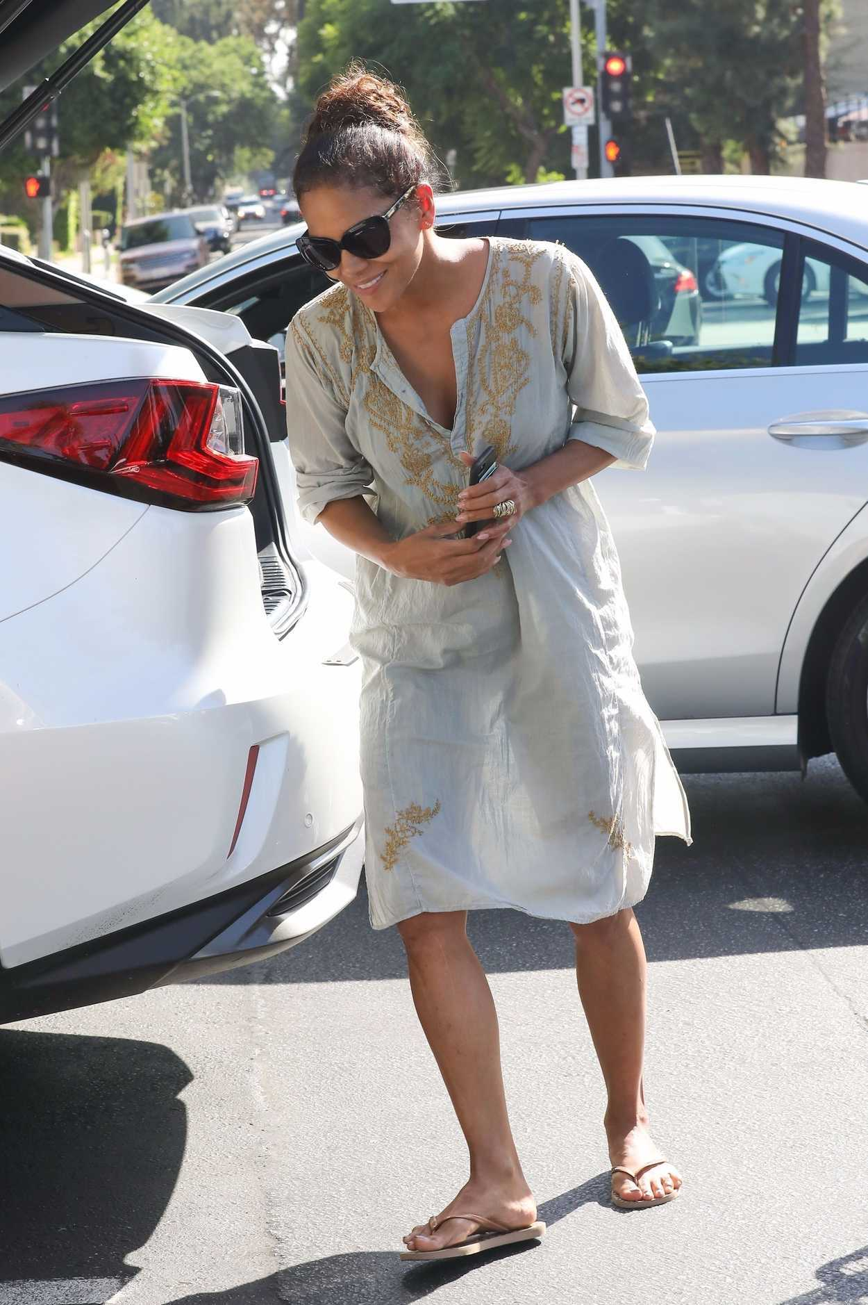 Halle Berry Was Seen at Bristol Farms in Los Angeles 10/09/2017-5