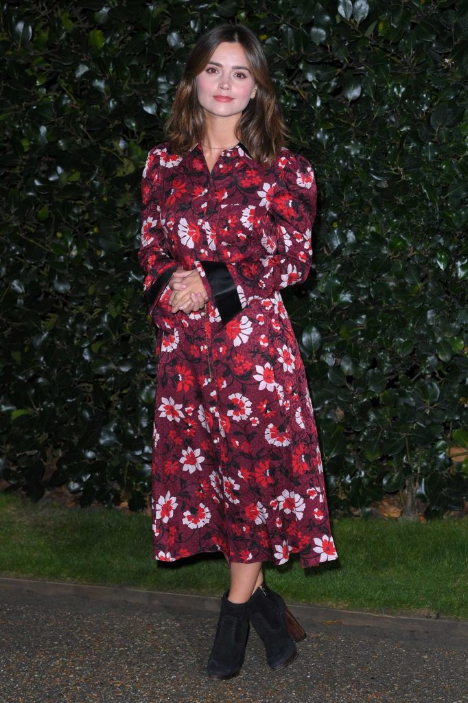 Jenna-Louise Coleman at the Victoria TV Show Photocall in London 10/09/2017-1