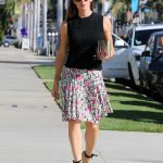 Jennifer Garner Arrives at Church in Pacific Palisades 10/15/2017-3