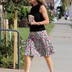 Jennifer Garner Arrives at Church in Pacific Palisades 10/15/2017-4