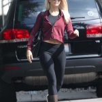 Julianne Hough Leaves a Friend's House in LA 10/19/2017-2