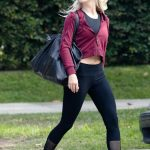 Julianne Hough Leaves a Friend's House in LA 10/19/2017-5