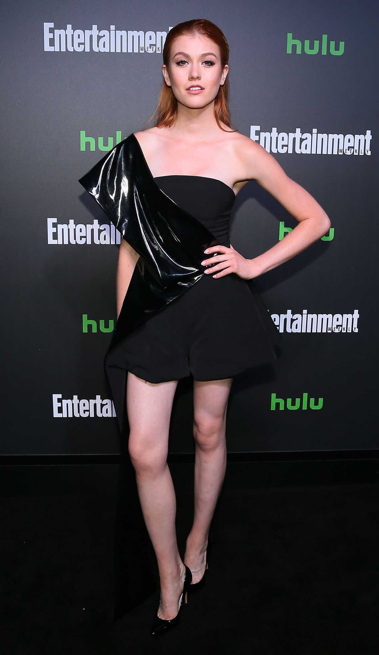 Katherine McNamara at Hulu and Entertainment Weekly New York Comic Con Party in New York 10/06/2017-2