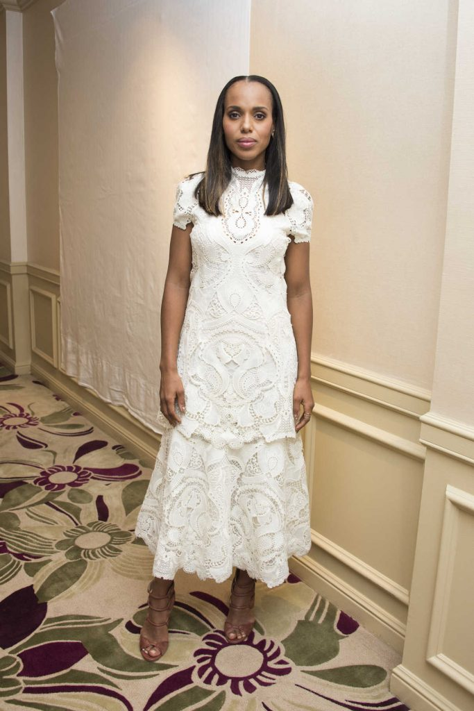 Kerry Washington at the Scandal Press Conference in Beverly Hills 10/18/2017-1