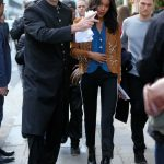Laura Harrier Leaves the Bristol Hotel in Paris 10/03/2017-3