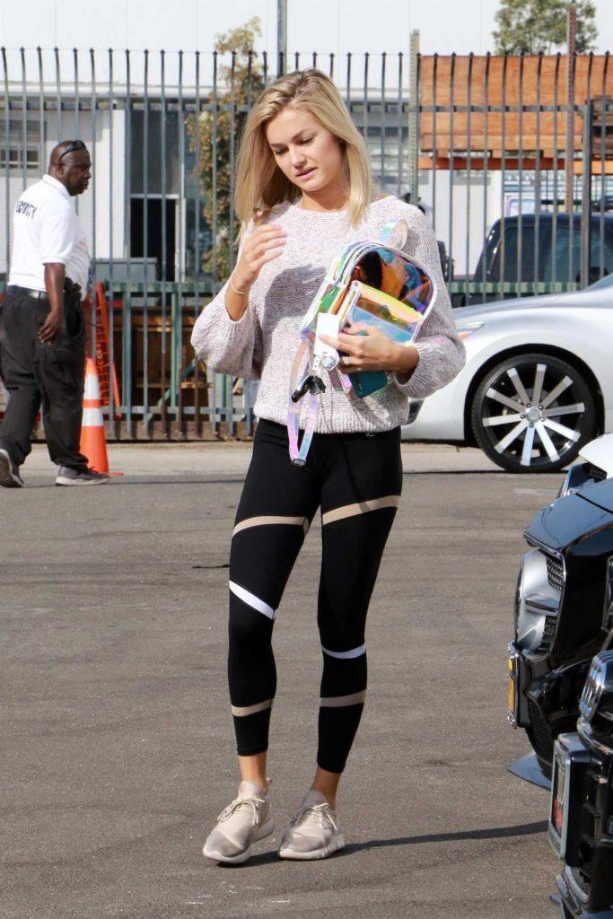 Lindsay Arnold Arrives for Dance Practice in Los Angeles 10/19/2017-1