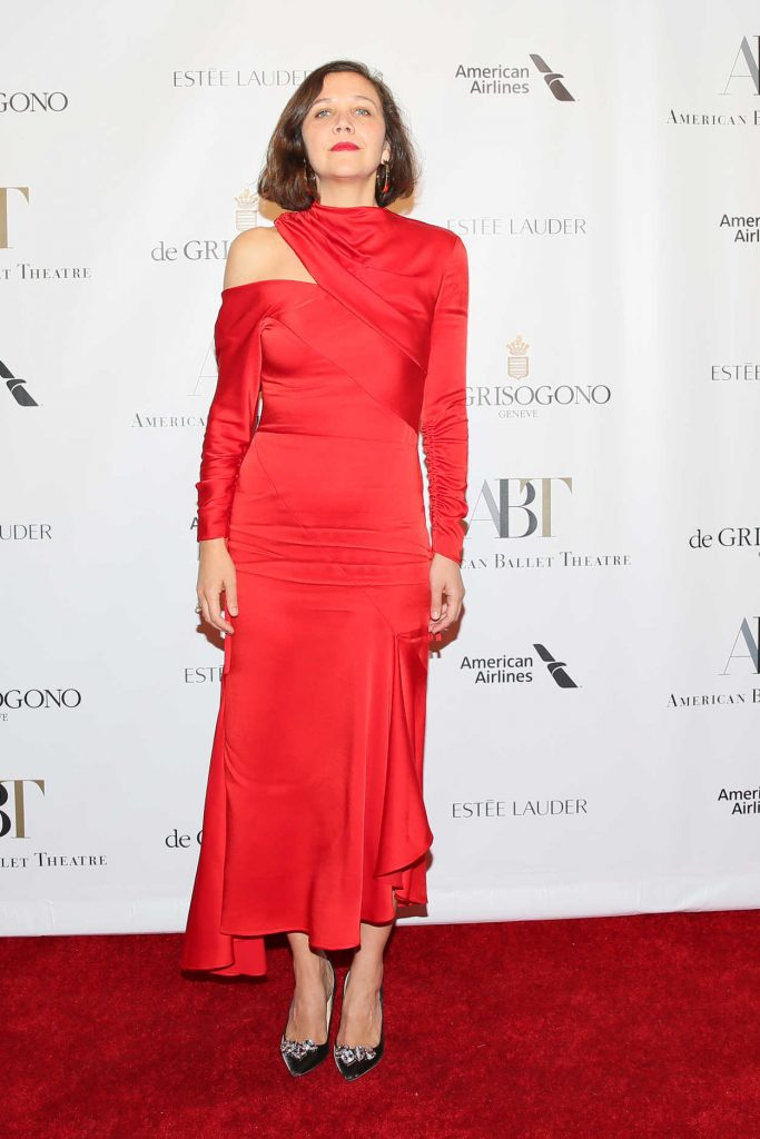 Maggie Gyllenhaal Attends 2017 American Ballet Theatre Fall Gala in New York City 10/18/2017-1