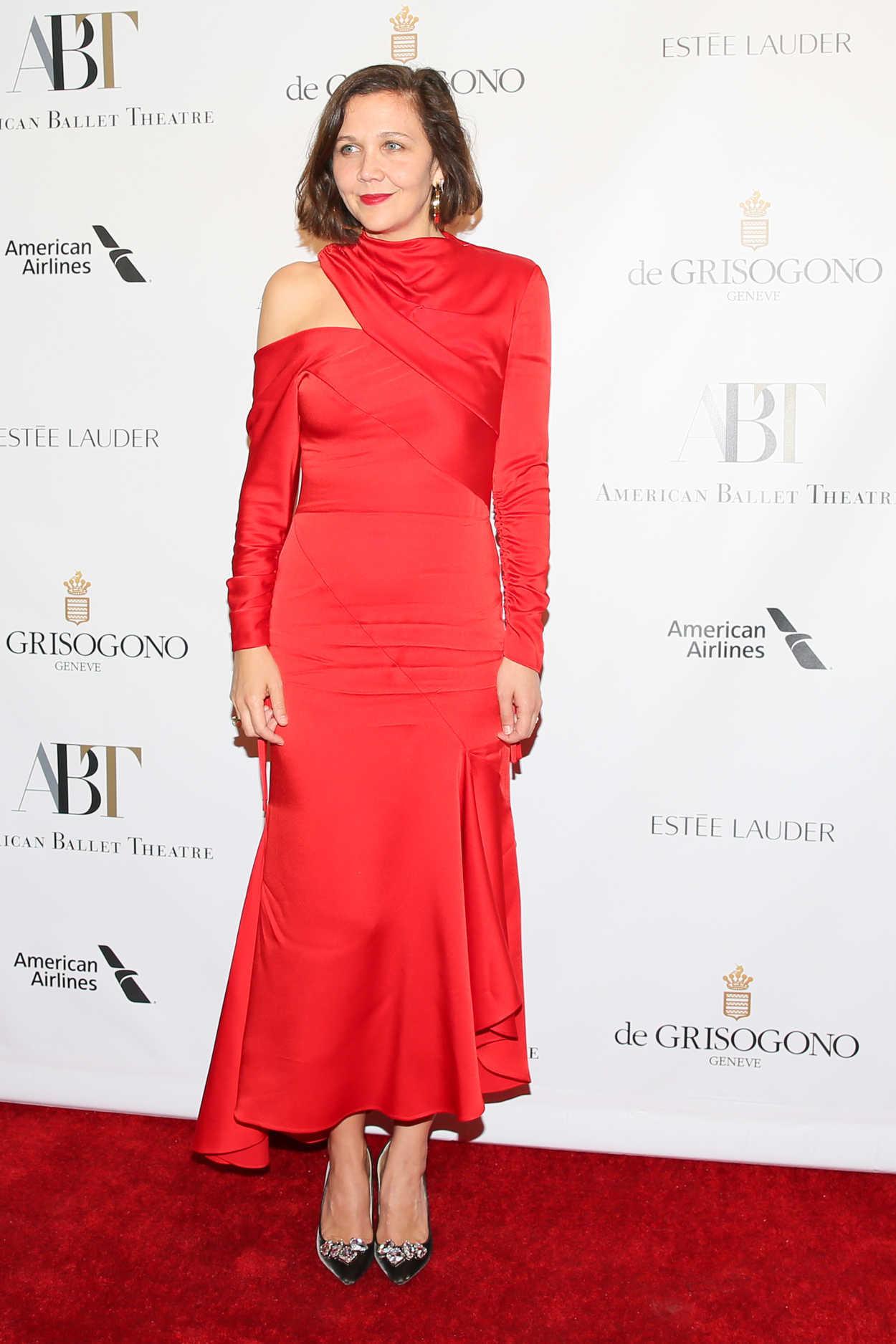 Maggie Gyllenhaal Attends 2017 American Ballet Theatre