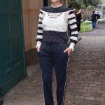 Marion Cotillard Arrives at the Valentino Show During Paris Fashion Week 10/01/2017-2