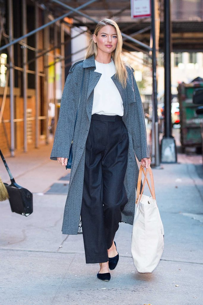 Martha Hunt Was Seen Out in NYC 10/19/2017-1