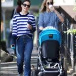 Olivia Wilde Walks Her New Dog Elvis Out in NYC 10/03/2017-5