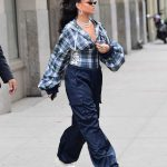 Rihanna Was Seen Out in New York City 10/13/2017-2