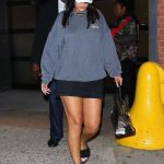 Rihanna Was Seen Out in New York City 10/19/2017-2