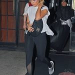 Rita Ora Carryes a Chanel Fanny Pack in NYC 10/04/2017-2