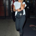 Rita Ora Carryes a Chanel Fanny Pack in NYC 10/04/2017-4