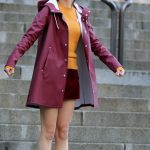 Selena Gomez on the Set of New Woody Allen Film in NYC 10/04/2017-4