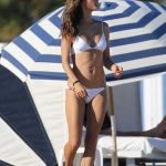 Alessandra Ambrosio in Bikini at the Beach in Miami 11/07/2017-3
