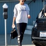 Alessandra Ambrosio Was Seen Out in Brentwood 11/26/2017-3
