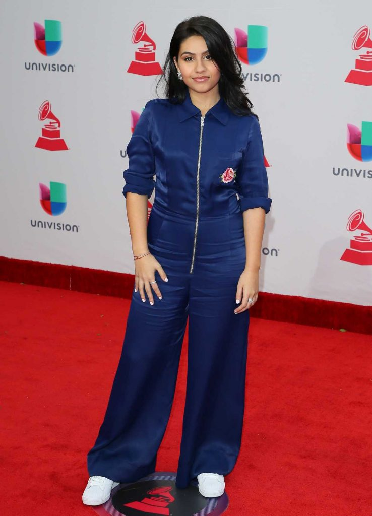 Alessia Cara at the 18th Annual Latin Grammy Awards in Las Vegas 11/16/2017-1