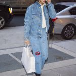 Bella Hadid Was Seen Out in New York City 11/14/2017-2
