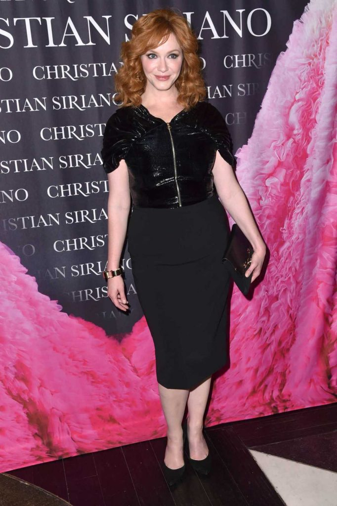 Christina Hendricks at the Dresses To Dream About Book Release in NYC 11/08/2017-1