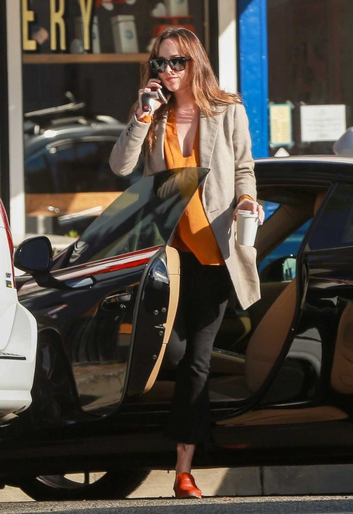 Dakota Johnson Was Spotted Out in Beverly Hills 11/09/2017-1