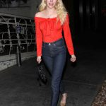 Emma Roberts Leaves Italian Restaurant Madeo in West Hollywood 11/06/2017-4