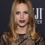 Halston Sage at the HFPA and InStyle Celebrate the 75th Anniversary of The Golden Globe Awards at Catch LA 11/15/2017-5