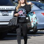 Hilary Duff Out Shopping in Studio City 11/11/2017-2