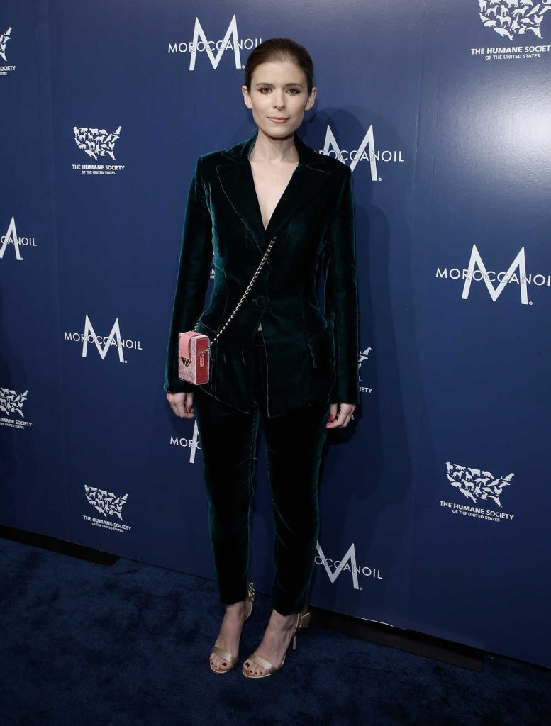 Kate Mara at 2017 Humane Society of the United States to the Rescue! New York Gala in NYC 11/10/2017-1
