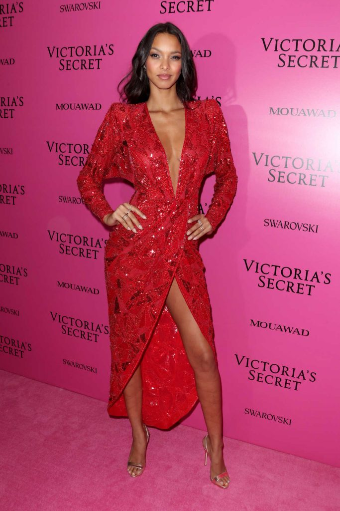 Lais Ribeiro at 2017 Victoria's Secret Fashion Show After Party in Shanghai 11/20/2017-1