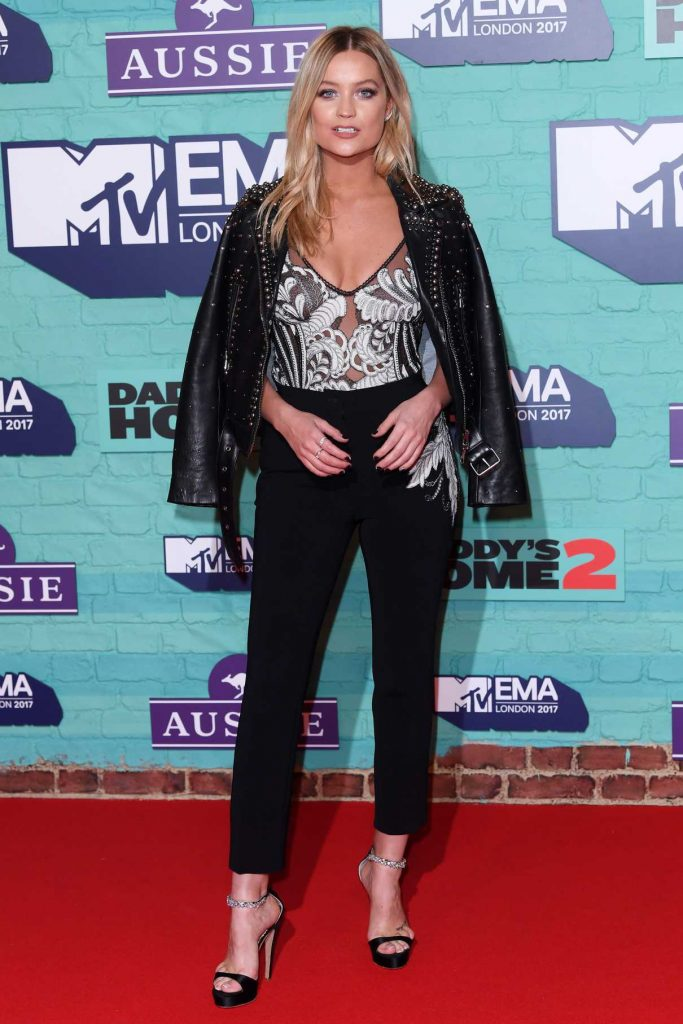 Laura Whitmore at the 24th MTV Europe Music Awards in London 11/12/2017-1