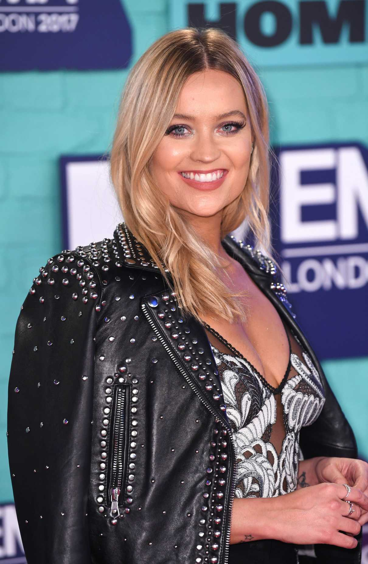 Laura Whitmore at the 24th MTV Europe Music Awards in London 11/12/2017-4