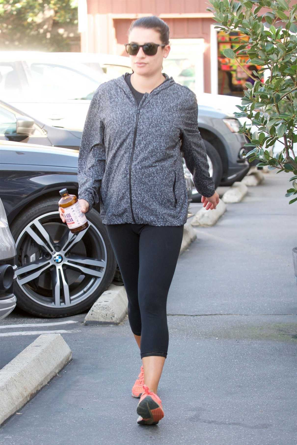 Lea Michele Was Seen Out in Brentwood 11/12/2017-2
