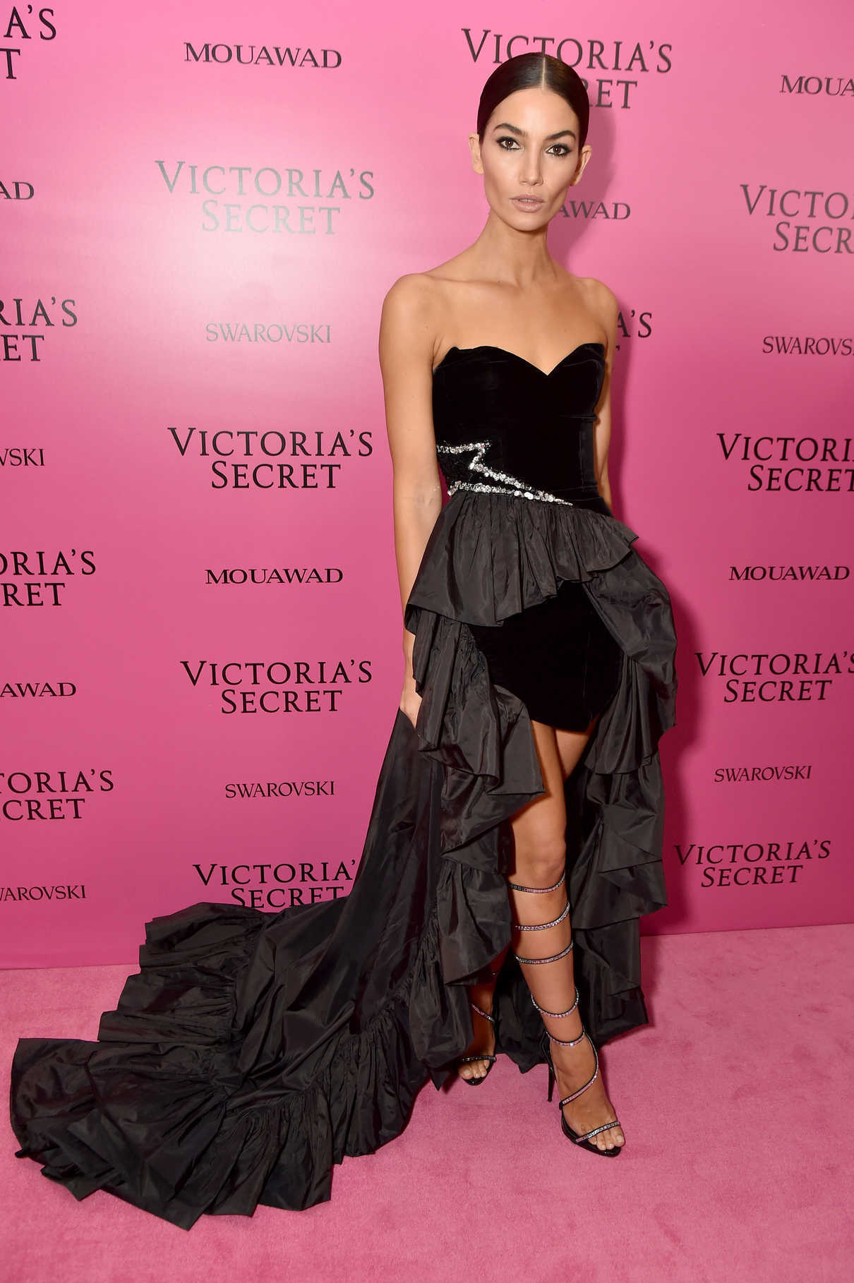 Lily Aldridge at 2017 Victoria's Secret Fashion Show After Party in Shanghai 11/20/2017-3