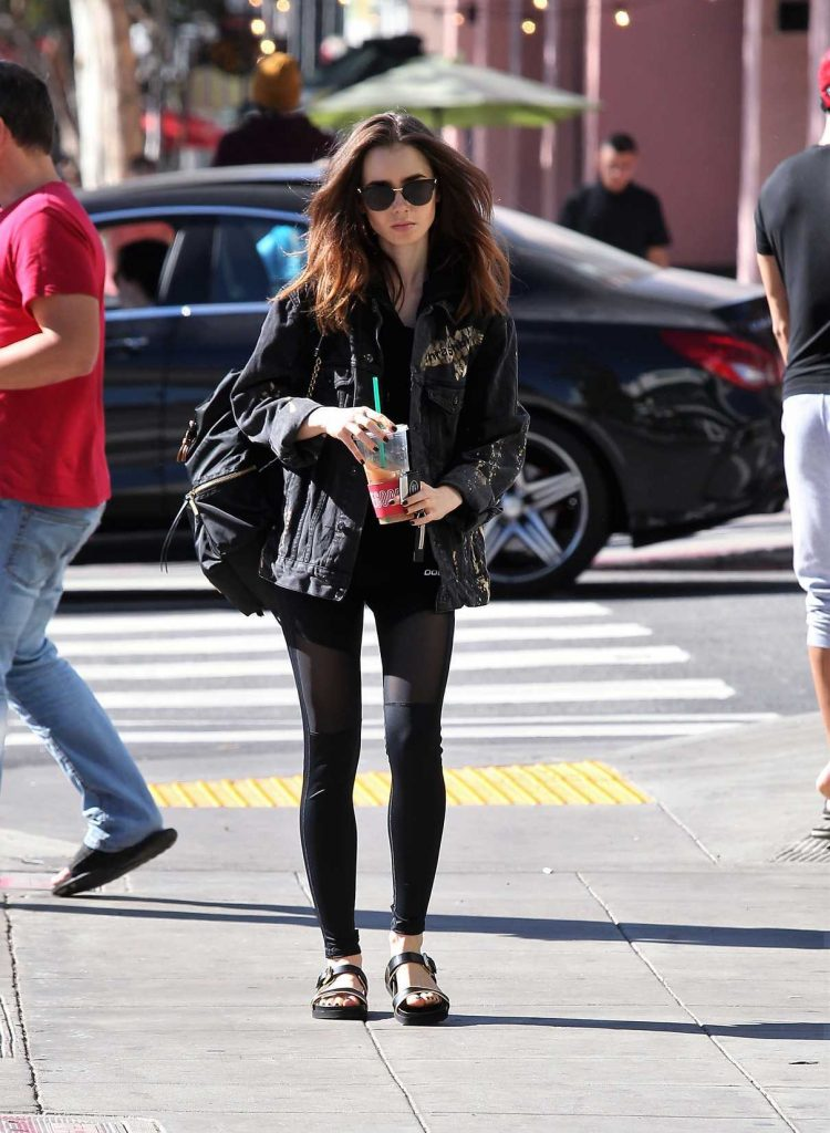 Lily Collins Was Seen Out in Los Angeles 11/18/2017-1