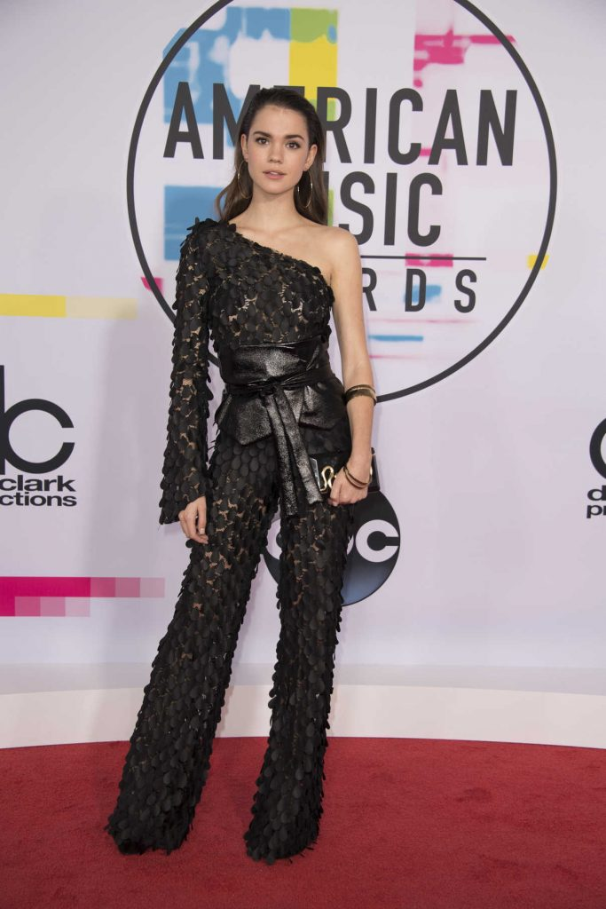 Maia Mitchell at 2017 American Music Awards at the Microsoft Theater in Los Angeles 11/19/2017-1