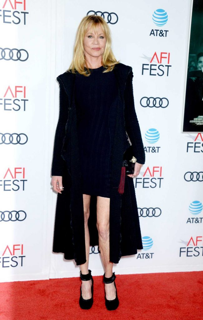 Melanie Griffith at The Disaster Artist Screening During AFI Festival in Los Angeles 11/12/2017-1
