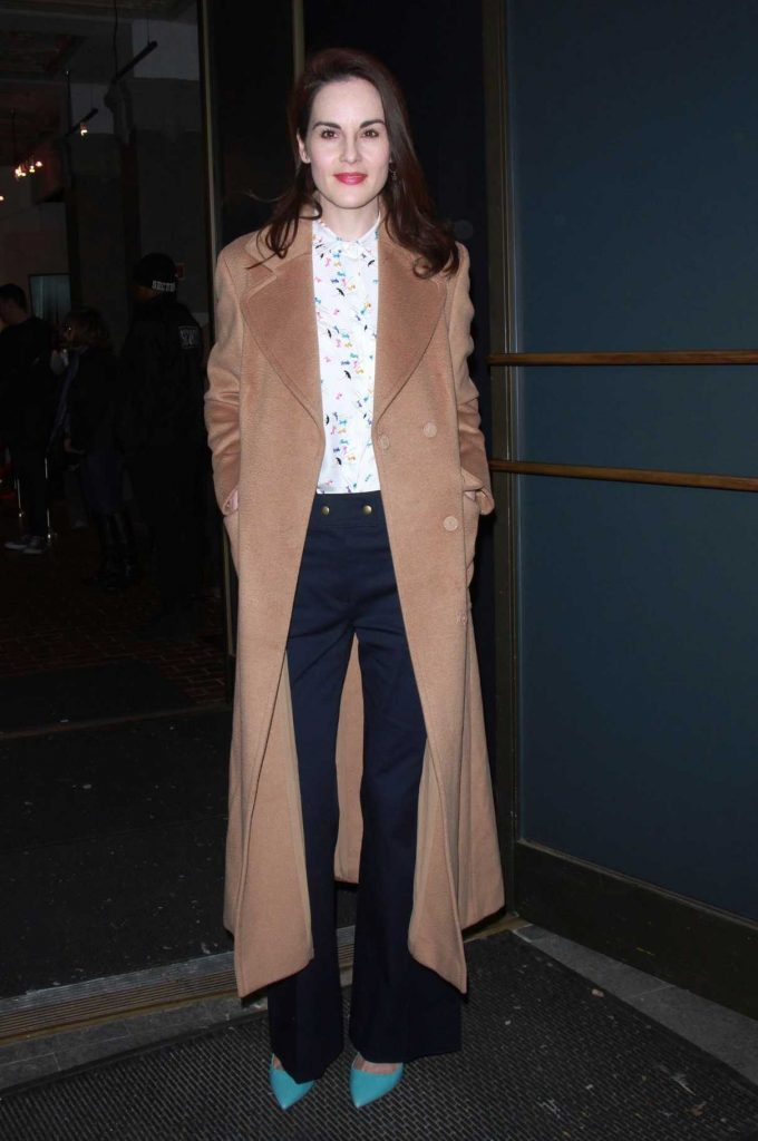 Michelle Dockery Was Seen Out in New York 11/20/2017-1