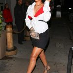 Rihanna Arrives at Giorgio Baldi Restaurant in Santa Monica 11/12/2017-2