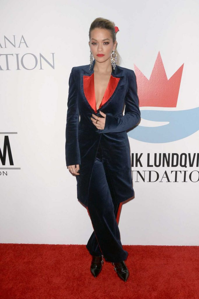 Rita Ora at 2017 Samsung Charity Gala at Skylight Clarkson Sq in New York 11/02/2017-1