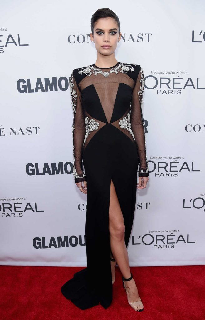 Sara Sampaio at 2017 Glamour Women of the Year Awards in NYC 11/13/2017-1