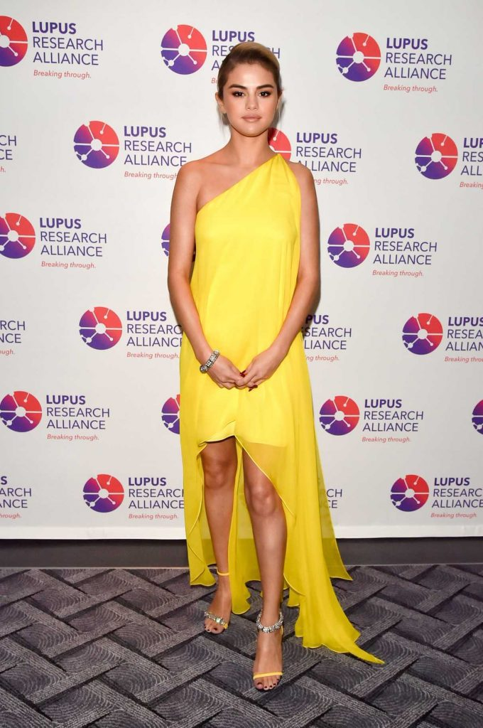 Selena Gomez at the Lupus Research Alliance Breaking Through Lupus Gala in New York 11/20/2017-1