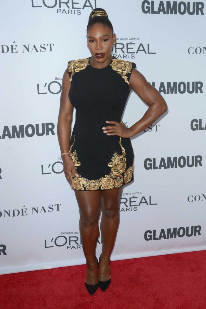 Serena Williams at 2017 Glamour Women of the Year Awards in NYC 11/13/2017-1