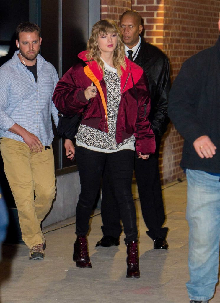 Taylor Swift Leaves Her Album Release After Party for Reputation in New York 11/14/2017-1